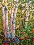 Fall Birch Grove